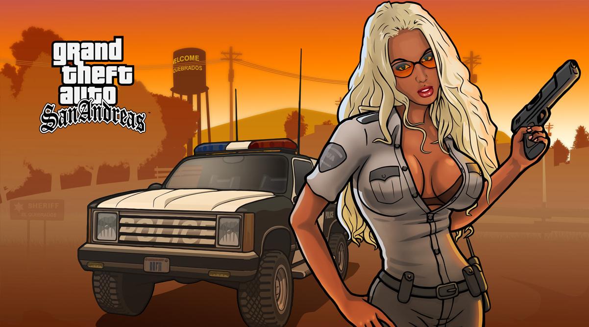 GTA: San Andreas для Xbox 360 в HD