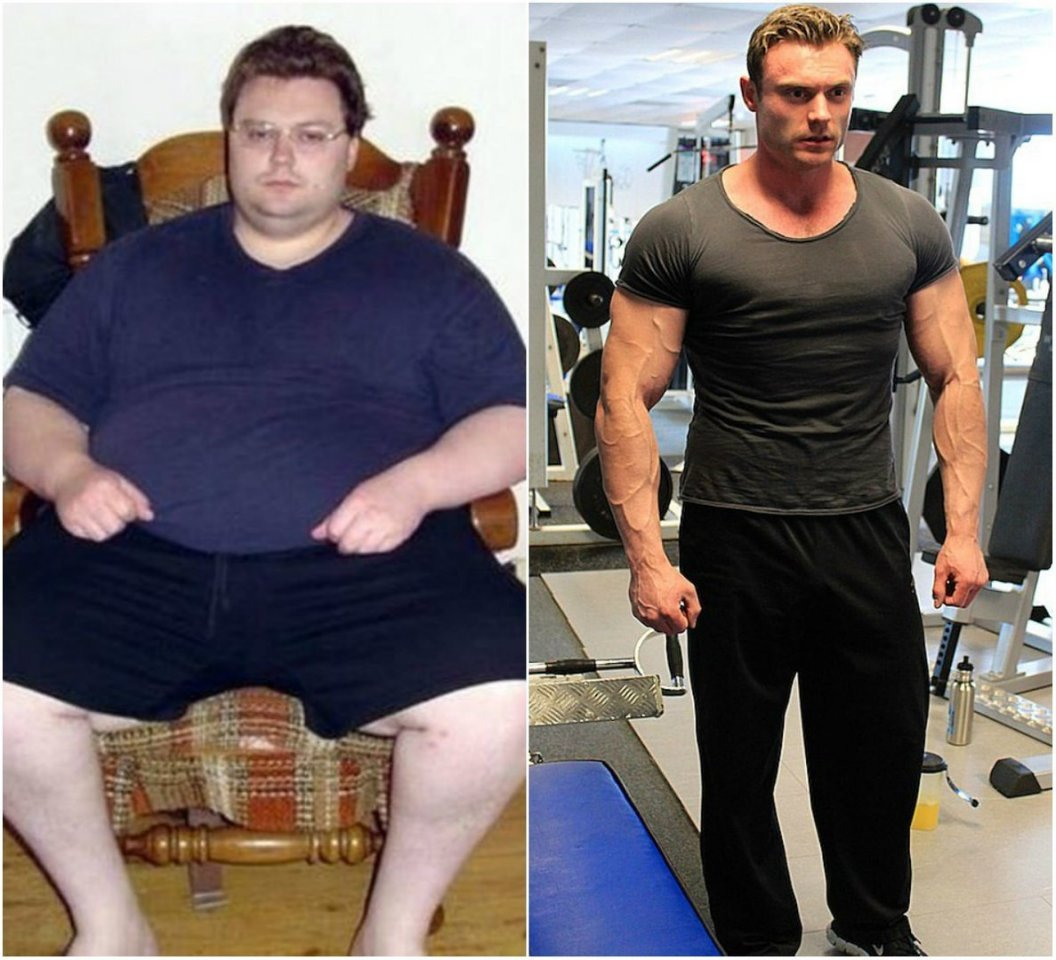 Похудеть Мужчины Фото.