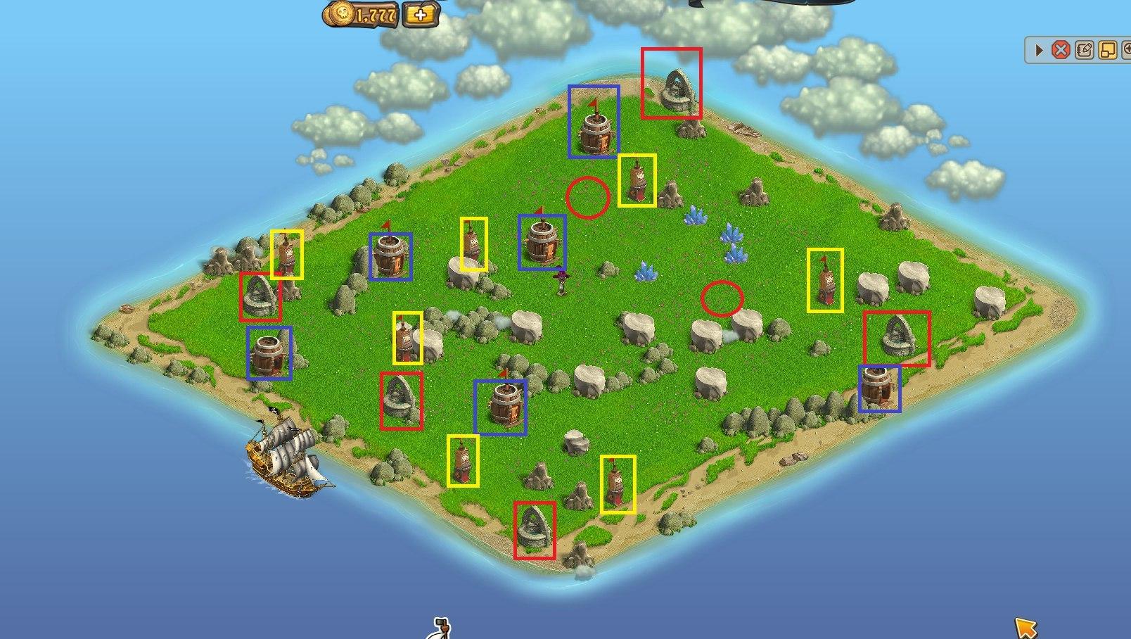 картинки древнего острова в зомби ферме